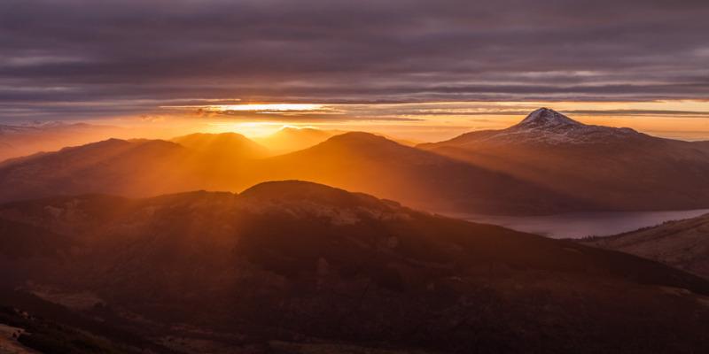 Ben Lomond Sunrise