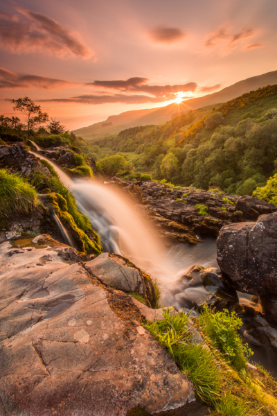 Loup of Fintry Sunset