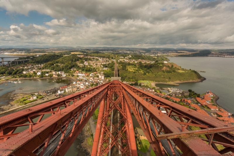 Forth Rail Bridge View