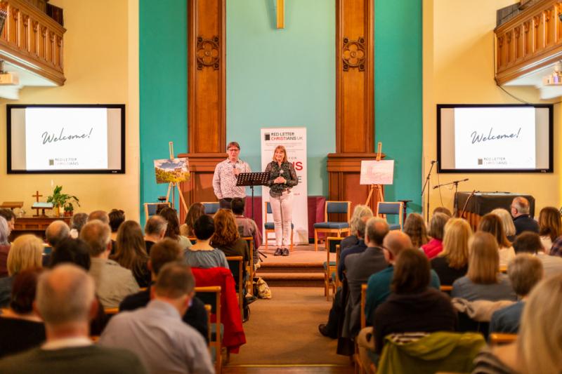Red Letter Christians UK Launch - Edinburgh