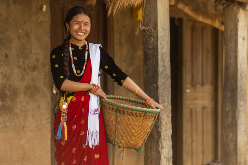 Traditional Magar Dress