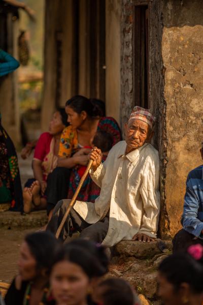 Community Gathering in Nepal