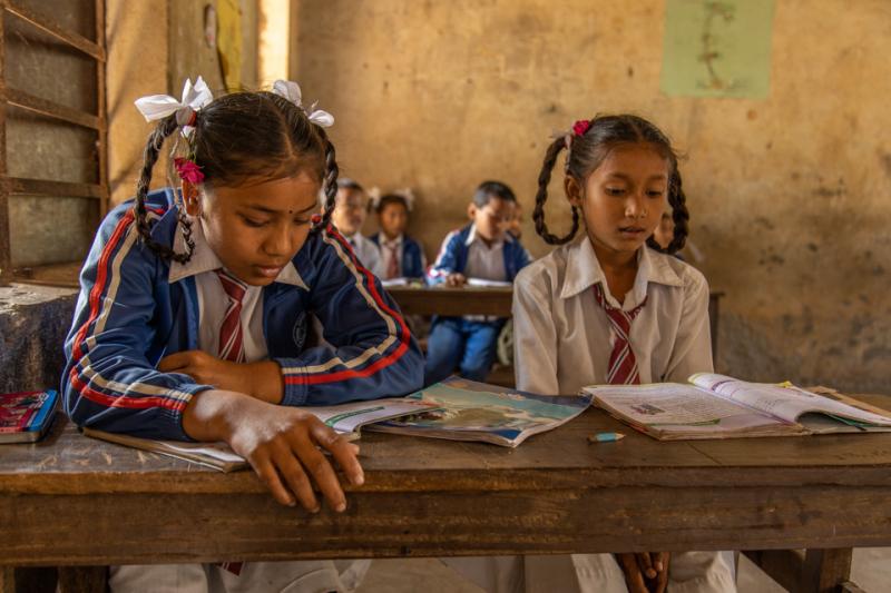 Nepal School Lesson