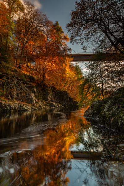 Autumnal River Garry