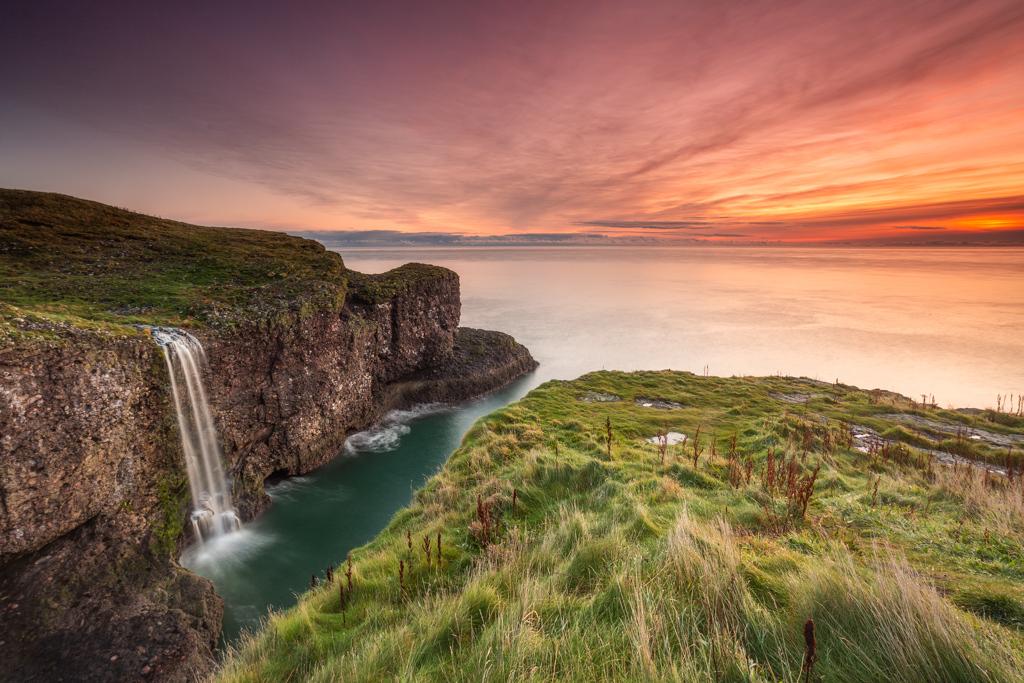 Crawton Ness Waterfall